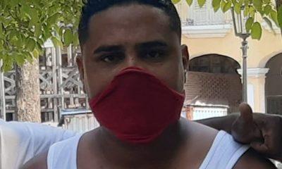 El activista Esteban Rodríguez contrajo Covid-19 en prisión y fue trasladado al hospital