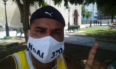 El periodista cubano Esteban Rodríguez lleva seis días en huelga de hambre