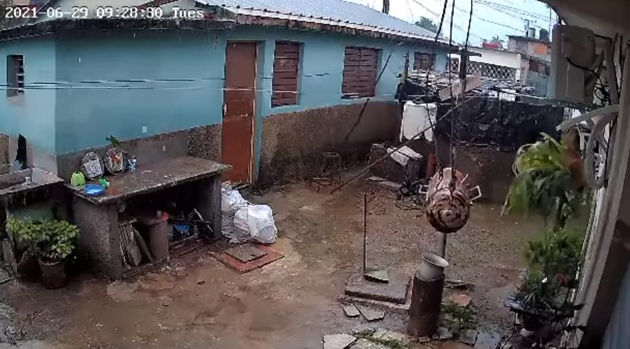 Impresionantes imágenes de sismo en Cuba, captadas por una cámara de seguridad