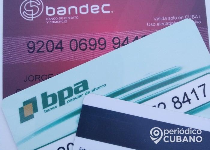 Nota oficial del Banco Central de Cuba sobre las tarjetas en MLC