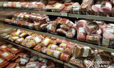 Refrigerador de carnes de un supermecado cualquiera. (Imagen de referencia: Periódico Cubano).