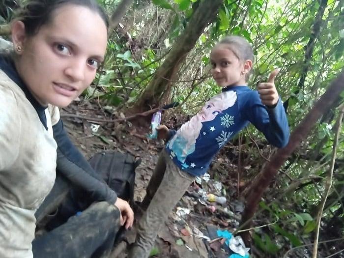 Pese a momentos duros, familia cubana logró atravesar la selva del Darién