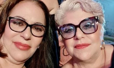 Actriz Zelma Morales junto a Susana Pérez