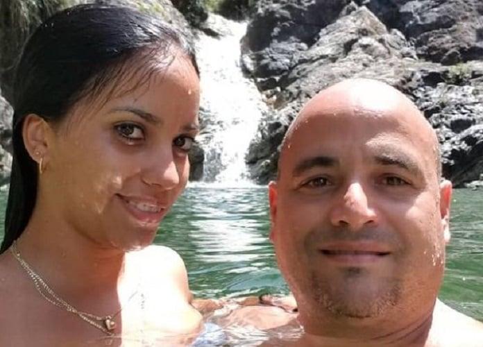 Andy Vázquez invadido de nostalgia por su esposa e hija en Cuba