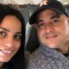 Andy Vázquez y su esposa Jennifer