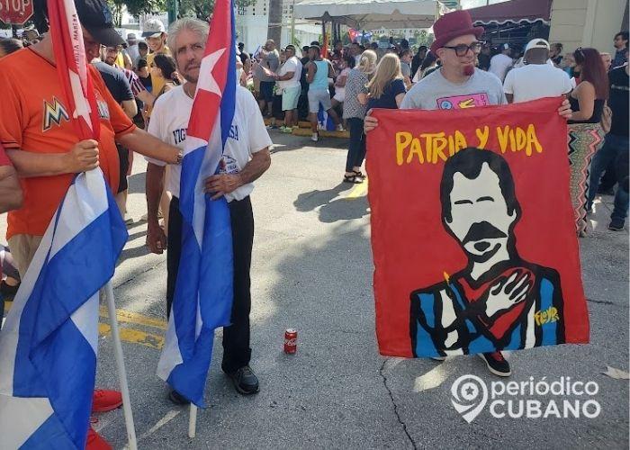 """Condado Miami-Dade declara el 11 de julio como el """"Día de Patria y Vida / SOS Cuba"""""""