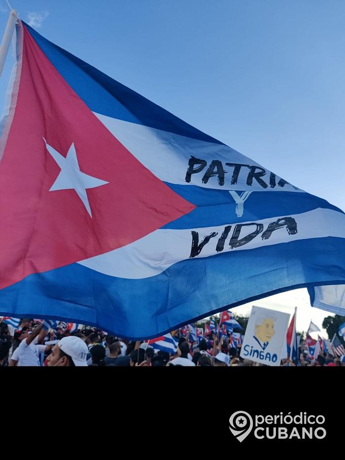 Cubanos protestan en Hialeah