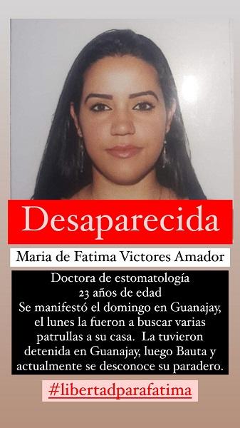 Doctora cubana se encuentra desaparecida tras participar en la protesta de Guanajay