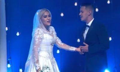 Eylen Remón se casa en el show TN3