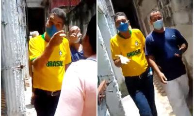 Funcionarios de Placetas golpeando mujeres. (Mitzael resistencia cubana-Facebook).