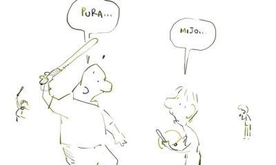 Garrincha protestas Cuba caricaturas