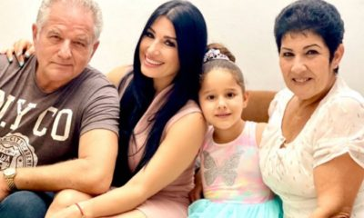 Heydy González celebra el cumpleaños de su papá