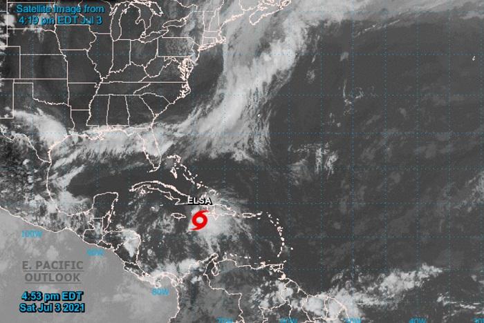 Elsa pierde fuerza y se degrada a tormenta tropical