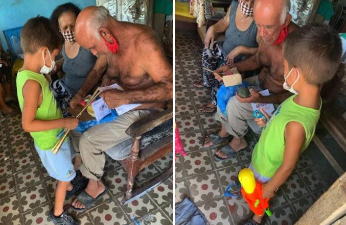 Niño cubano necesita ayuda, su madre murió y el padre lo abandonó
