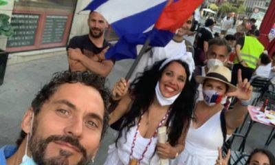 Paco León, el 'Luisma' en Aída, se suma a las protestas de cubanos en Madrid