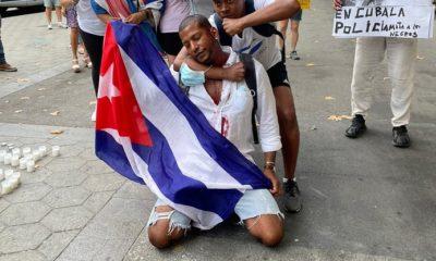Protestas de cubanos
