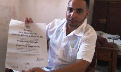 Psicólogo cubano enfrenta tres cargos por participar en las protestas