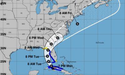 Tormenta tropical Elsa toca tierra al sur de Matanzas
