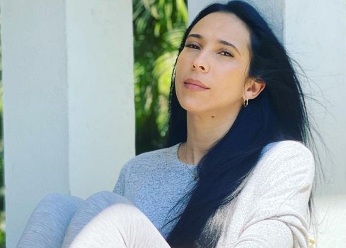 Yuliet Cruz se corta el cabello