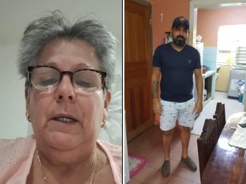 madre pide por su hijo detenido