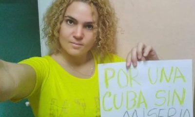 """Activista cubana golpeada y obligada a gritar """"Viva Fidel"""" en prisión"""