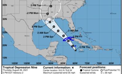 Alerta Ciclónica para el occidente cubano por la tormenta tropical Ida