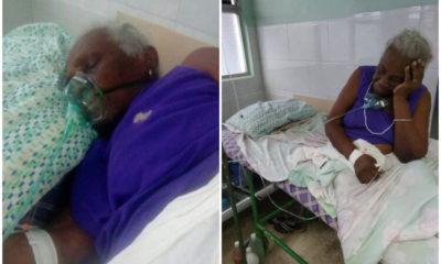 Anciana fallece por falta de atención médica en La Habana. (Serafín Moran-Facebook).