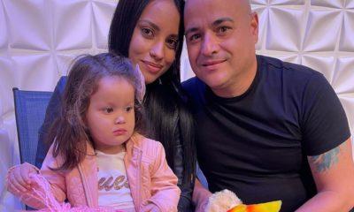 Andy Vazquez se reencuentra con su familia