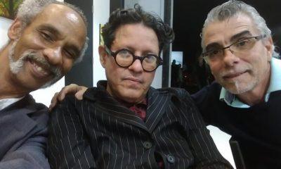 Arturo Cuenca (centro), artista opositor, fallece en Miami. (Magin Pérez-Facebook).