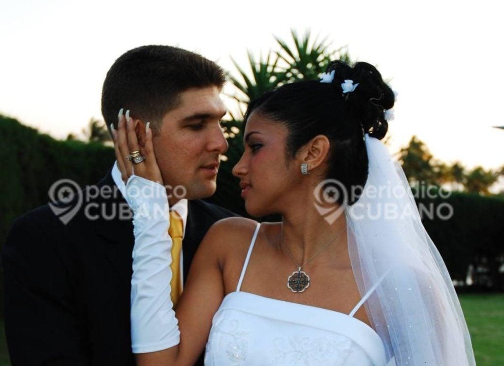 Boda de Raul Guillermo Rodriguez Castro el Cangrejo nieto de Raul Castro y su esposa