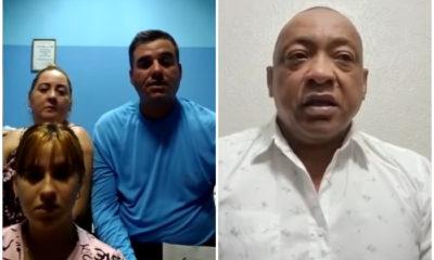 Familia cubana queda varada en Rusia