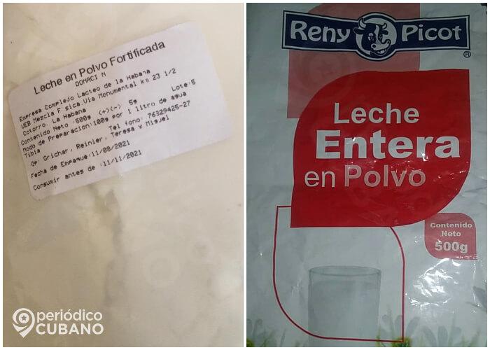 Noticias de Cuba más leídas: Gobierno vende leche de donaciones. (Periódico Cubano).