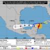 Huracán Grace toca tierra cerca de Cancún en la Península de Yucatán