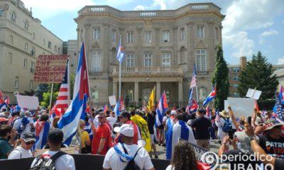"""Senado de EEUU aprueba el nombramiento de """"Oswaldo Payá Way"""" a la calle frente a la embajada cubana en Washington"""