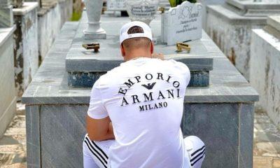 Yomil visita la tumba de El Dany