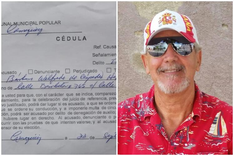 A juicio el Patriota de Camagüey. (Bárbaro Céspedes-Facebook)
