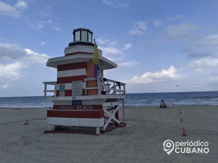Dos playas de Miami-Dade con alta concentración de una bacteria