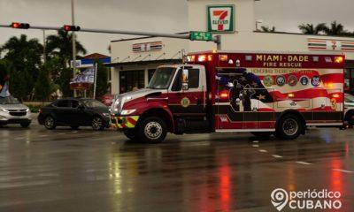 Incendio en un local de venta de vehículos en La Pequeña Habana