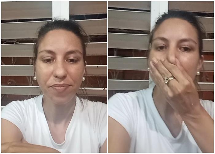 Liberan a la activista cubana Thais Mailén Franco tras casi cinco meses de encierro