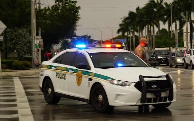 Patrulla de Miami-Dade. (Imagen de referencia: Periódico Cubano)