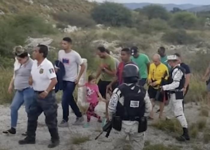 Localizadas 38 personas que secuestradas de un hotel de México, entre los rescatados había cubanos. (Foto: Captura de pantalla)