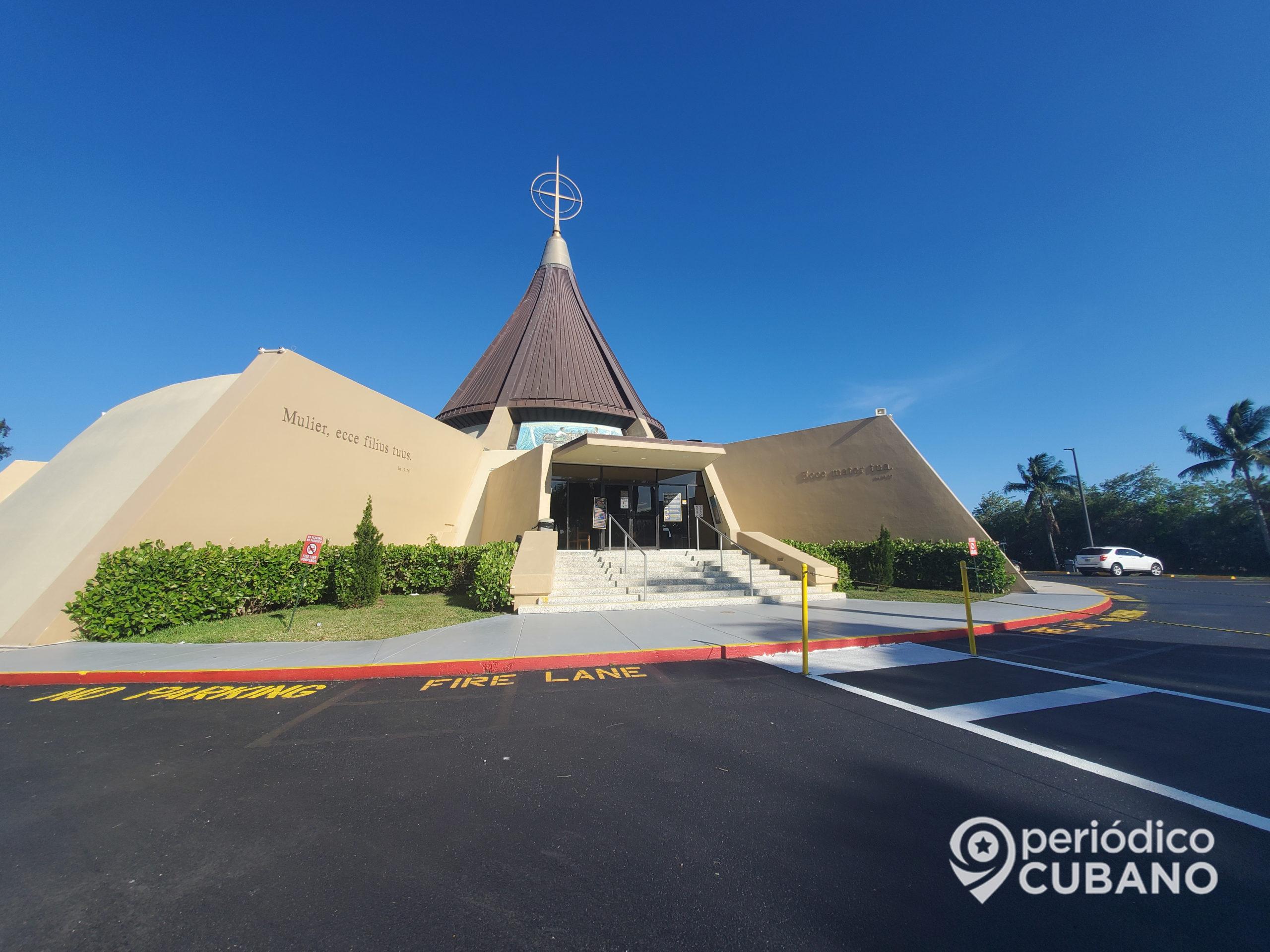 Noticias de Cuba hoy: Ermita de la virgen de la caridad en miami (5)