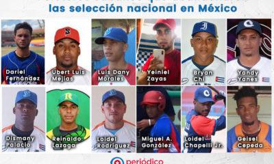 12 Peloteros que han abandonado el equipo Cuba sub -23 de beisbol en mexico