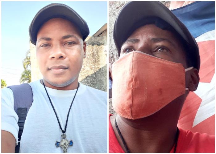 Activista detenido por el 11J no le permiten hablar con su madre