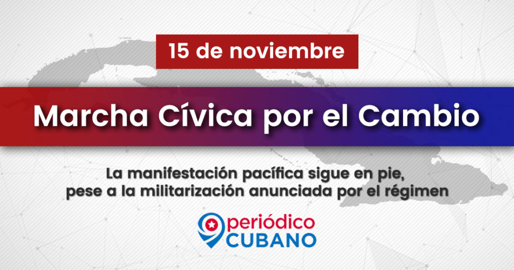 Banner marcha civica por el cambio