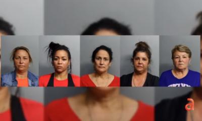 Cinco cubanas acusadas de robo