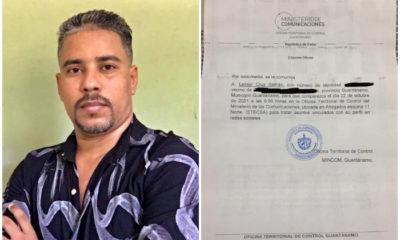Multa de 3.000 pesos contra promotor de la marcha del 15N en Guantánamo