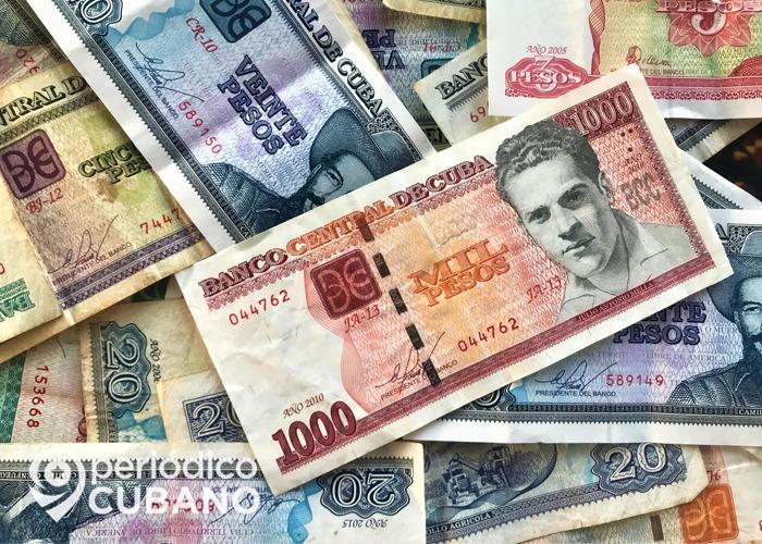 tasa de cambio del peso cubano